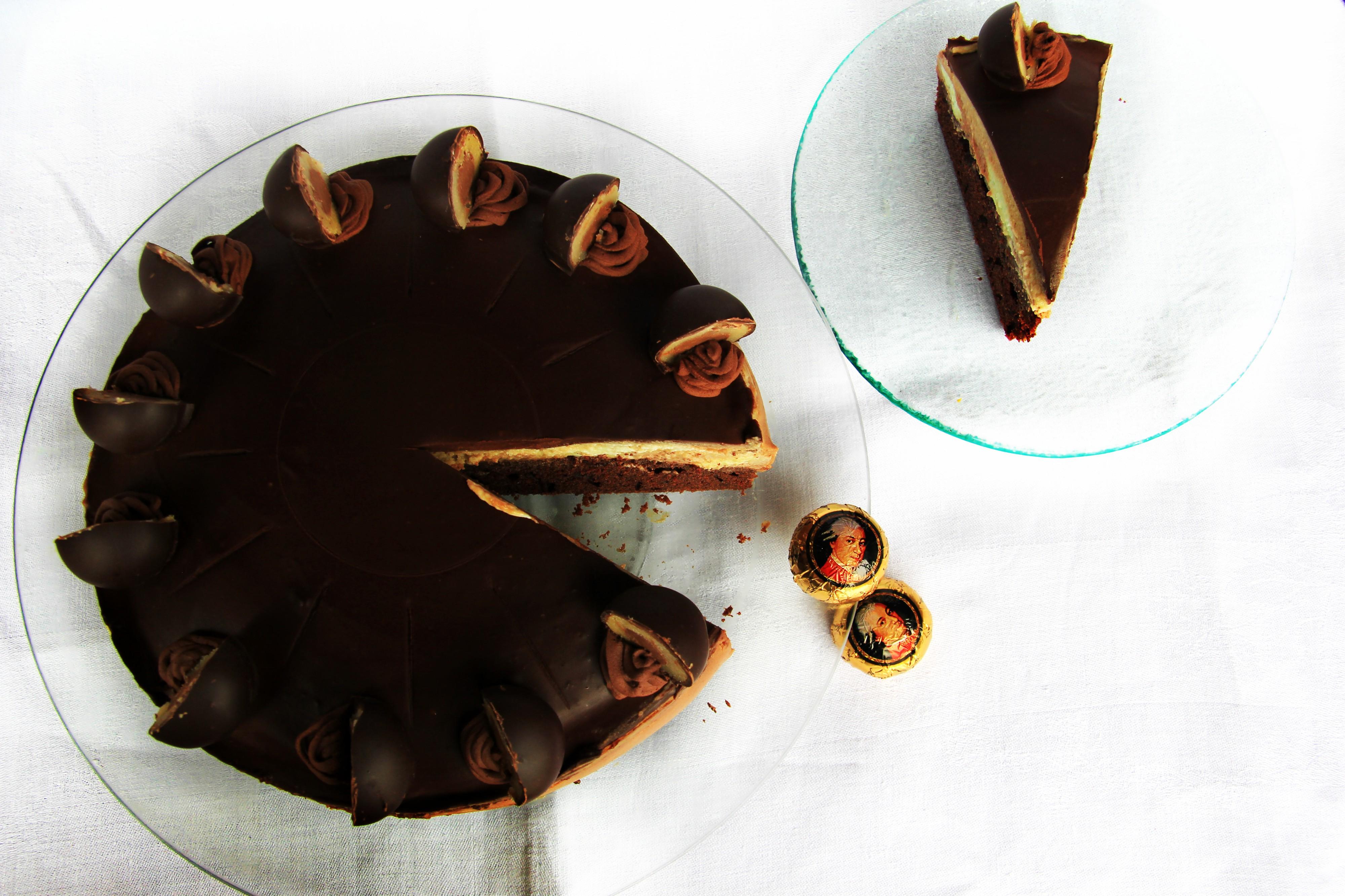 mozart torta recept