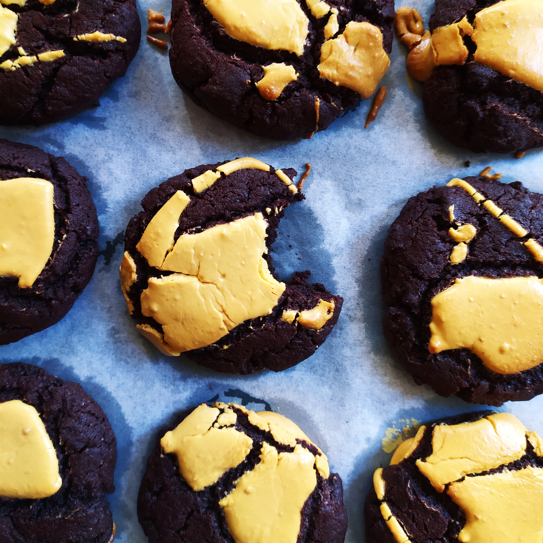 Csokis Keksz, Karamellizált Fehércsokival