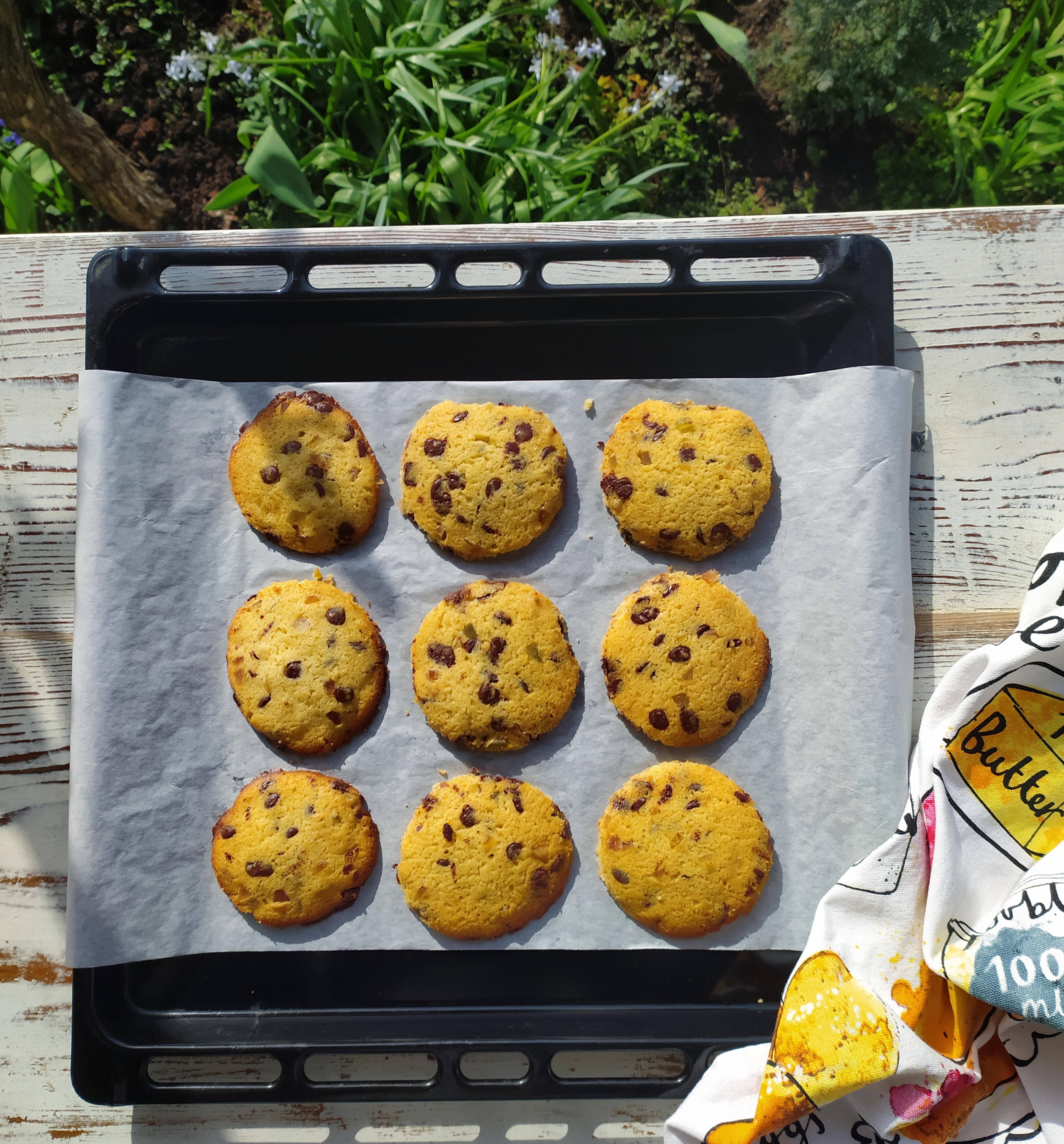 soft baked amerikai csokis keksz recept
