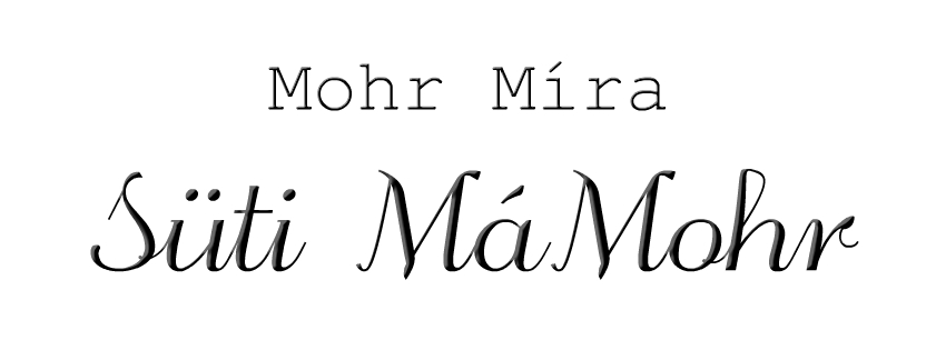 MOHR MÍRA – Süti MáMohr