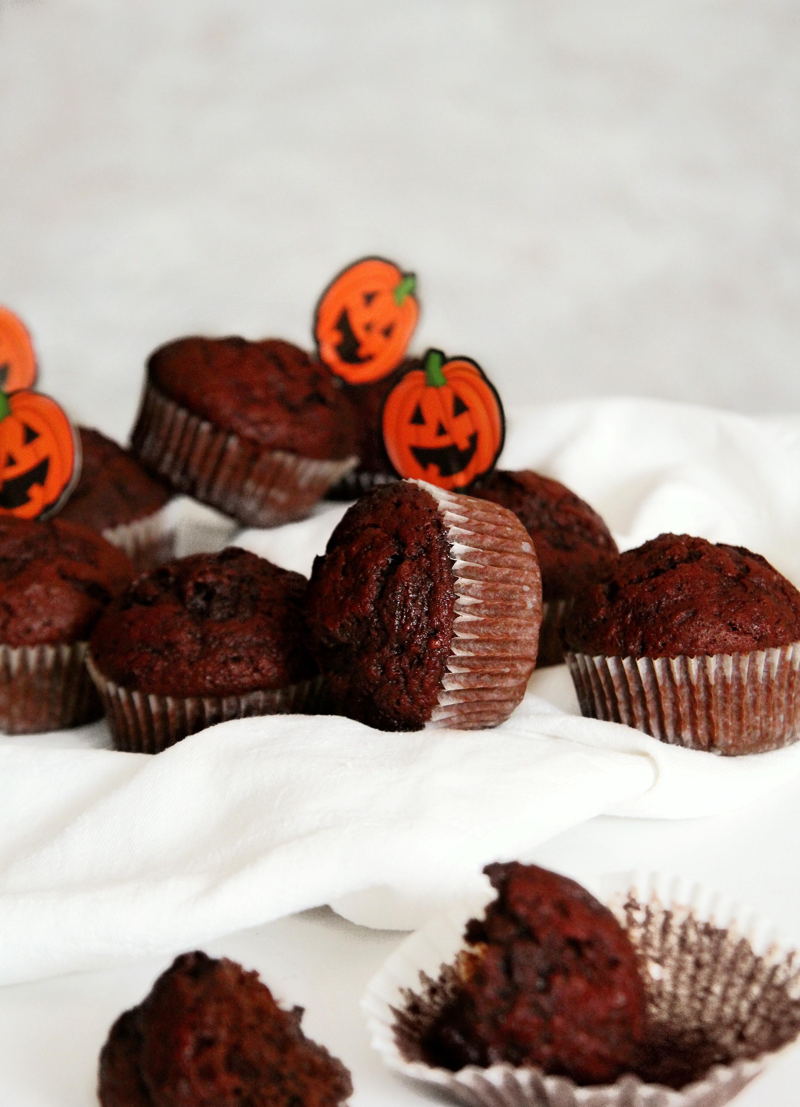 szörpis céklás muffin