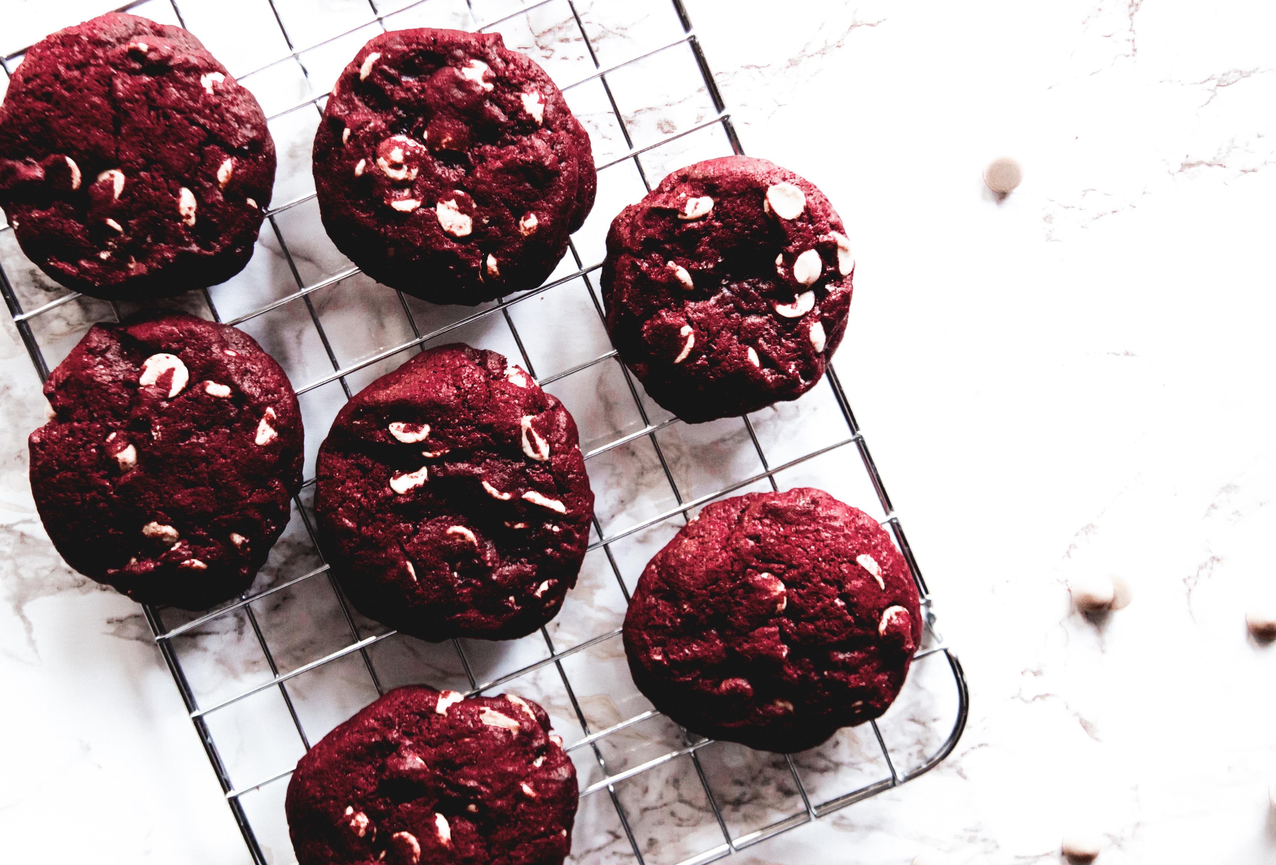 Vörösbársony-Keksz recept