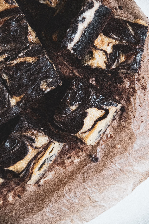 Sajttorta Brownie recept