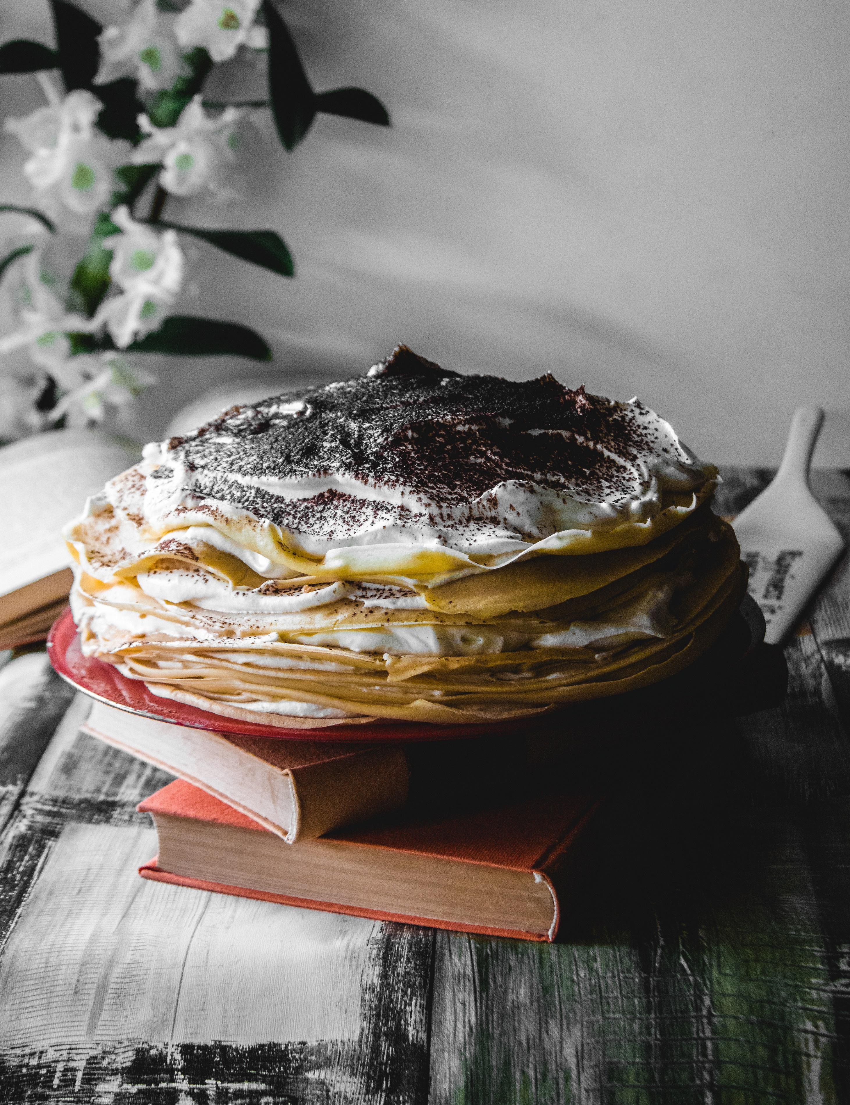 Palacsinta Torta Tiramisus