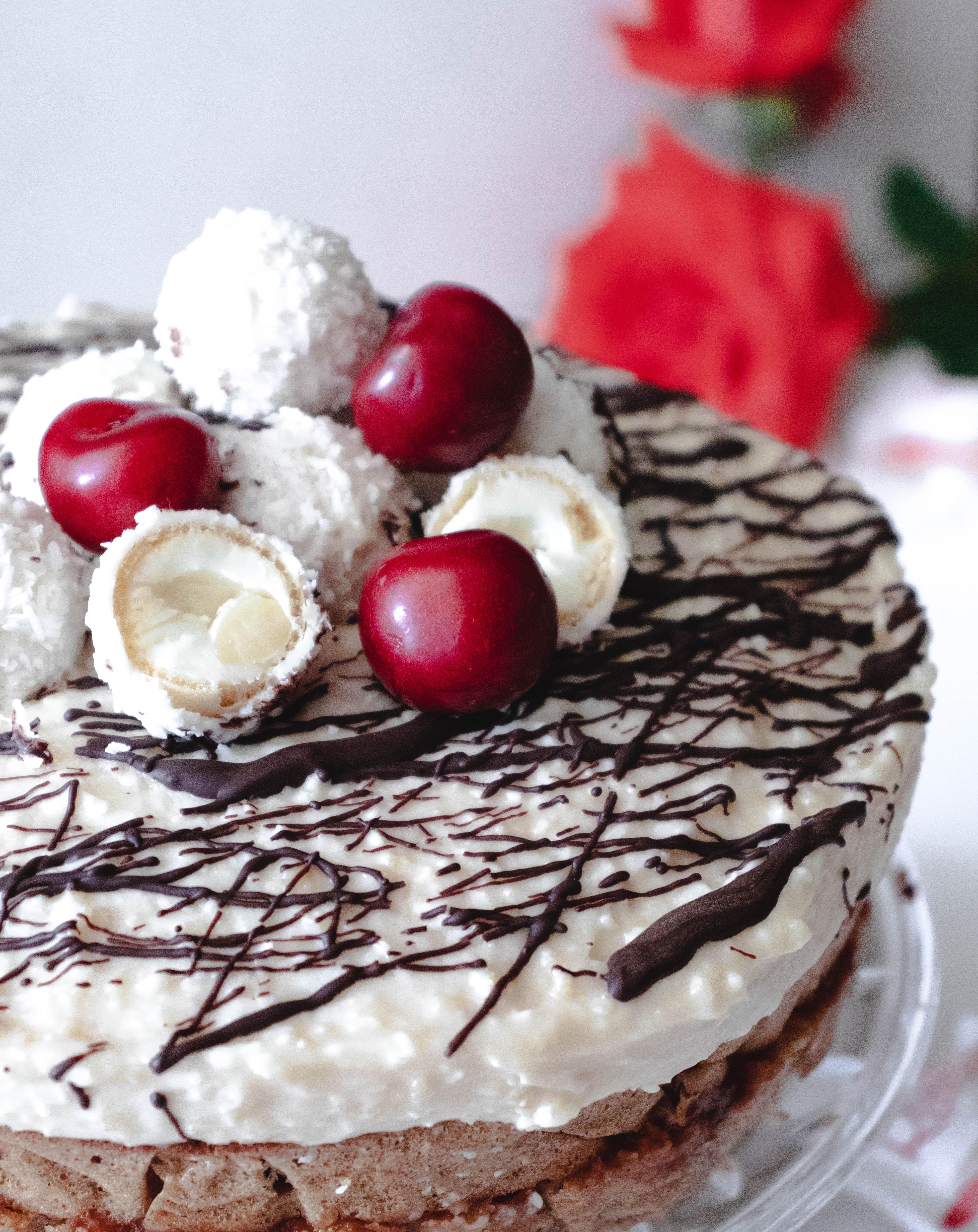 Szuper könnyű raffaello torta recept