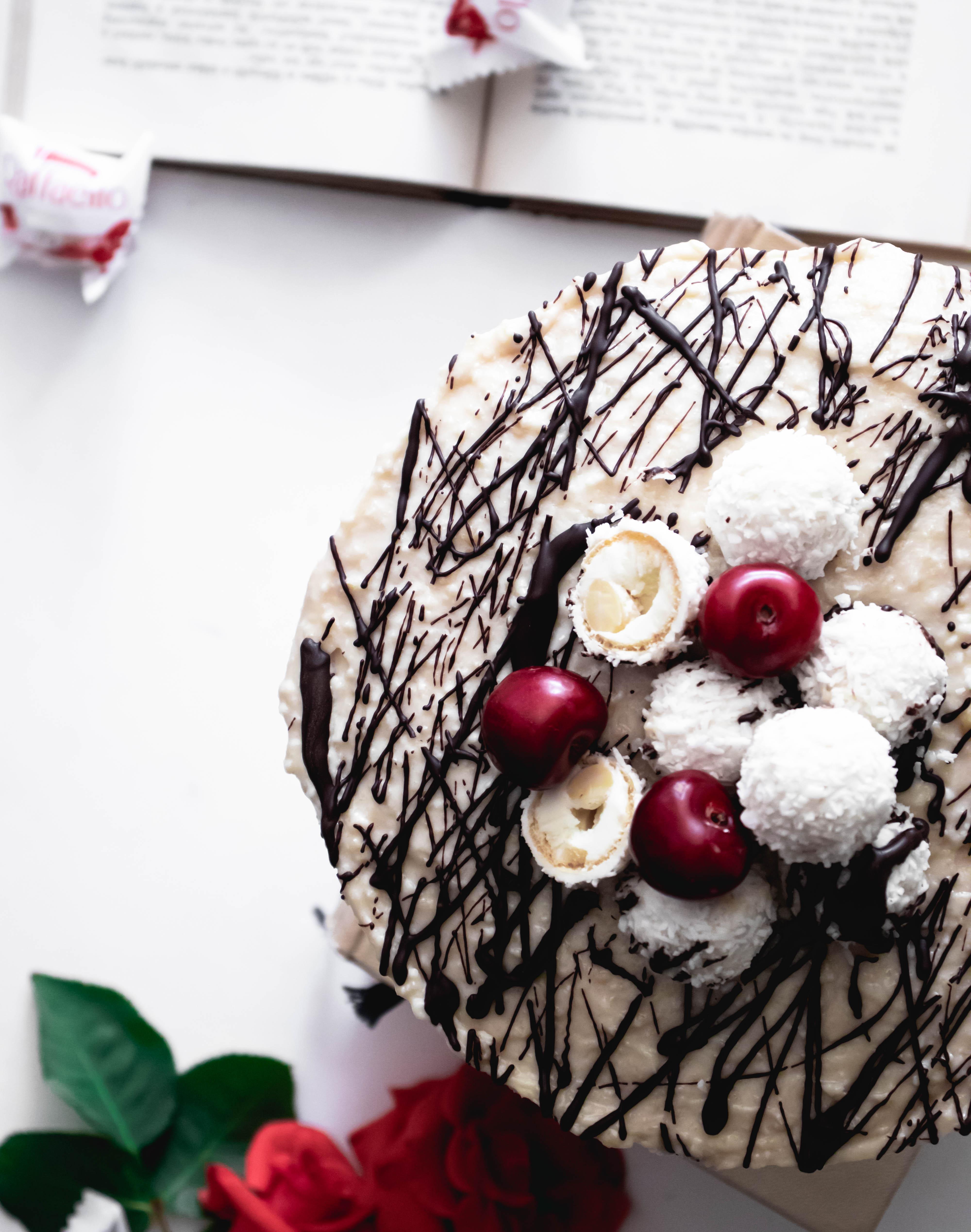 raffaello torta recept