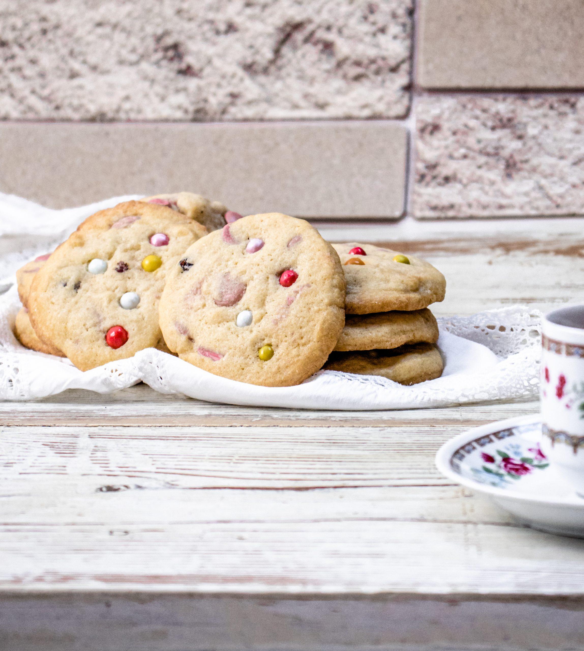 Francia drazsés keksz recept